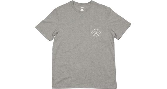 POLER Tent Pocket t-shirt Heren grijs
